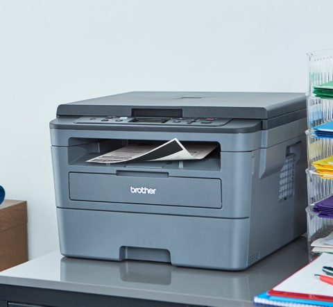 Brother Compact Monochrome Laser Printer, HLL2390DW,