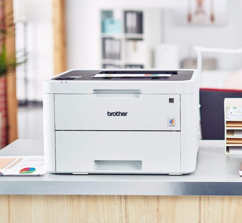 Brother HL-L3230CDW Compact Digital Color Printer Providing Laser Printer Quality Results with Wireless Printing and Duplex Printing