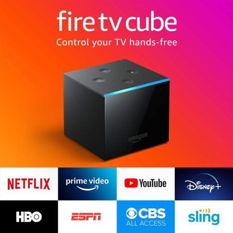 Fire TV Cube, hands-free with Alexa built-in