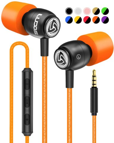 LUDOS Clamor Wired Earbuds In-Ear Headphones
