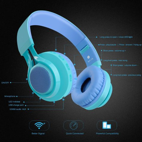 Riwbox WT-7S Bluetooth Headphones