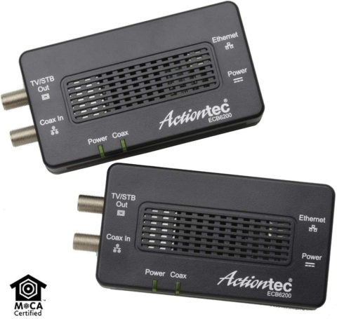 Actiontec Bonded MoCA 2.0 Ethernet to Coax Adapter