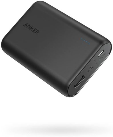 . Anker PowerCore 10000 Portable Charger