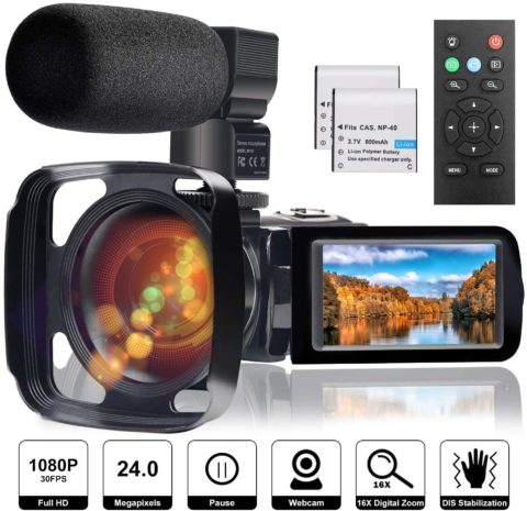 FamBrow Digital YouTube Vlogging Camera Recorder