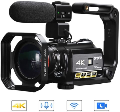 ORDRO AC3 Ultra HD Video Camera