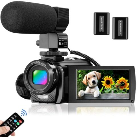 Video Camera Camcorder for YouTube