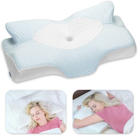 Elviros Pillow for Side Sleepers