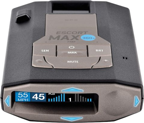 Escort MAX360C WiFi & Bluetooth Enabled Laser Radar Detector