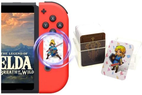 24Pcs The Legend of Zelda Breath of The Wild NFC Cards