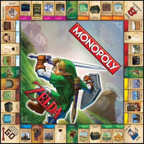 MONOPOLY The Legend of Zelda Collector's Edition